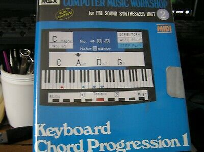 YAMAHA COMPUTER MUSIC WORKSHOP for FM SOUND SYNTHESIZER UNIT 2 NEW