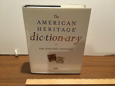American Heritage Dictionary of the English Language 4th Edition Hardcover