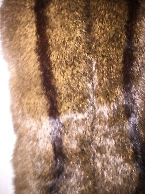 Genuine Vintage Fur Stole Collar Scarf