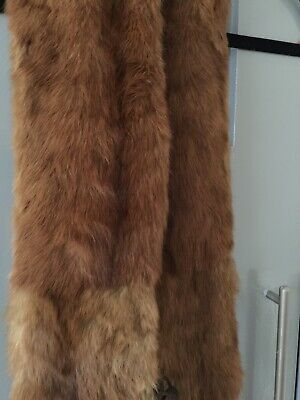 Genuine Vintage Fur Collar Stole Scarf