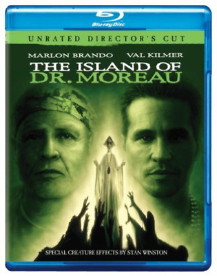 `KILMER,VAL`-ISLAND OF DR MOREAU (BLU-RAY/UNRATED DIREC (US IMPORT) Blu-Ray NEW