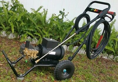 Electric Commercial Residential Pressure Washer 3,000psi 5HP Motor