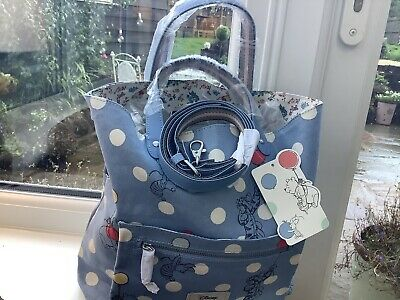Cath Kidston Winnie The Pooh Reversible Cross Body Bag And Free Canvas Tote