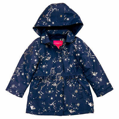 London Fog Girls Midweight Jacket, Color Navy, Size: 4