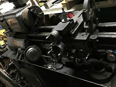 """Logan 12"""" Swing Over Bed 24"""" Between Centers 3Ph Engine Lathe W/3-Jaw Chuck"""