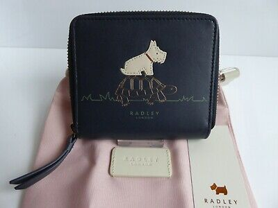 Radley Slow and Steady Zip Around Purse BNWT With Dust Bag
