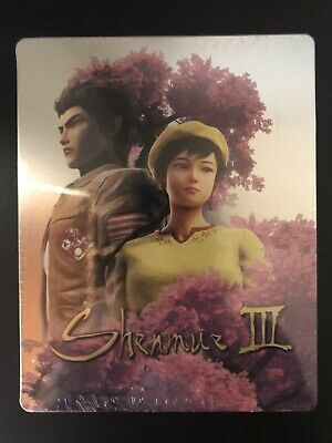 Shenmue III 3 Steelbook Brand New Sealed Best Buy Exclusive - No Disc - PS4 PC