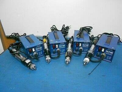 HIOS MOUNTZ CL-6500 TORQUE LIMITING POWER SCREW DRIVER & CLT-50 PWR SUP Lot of 4