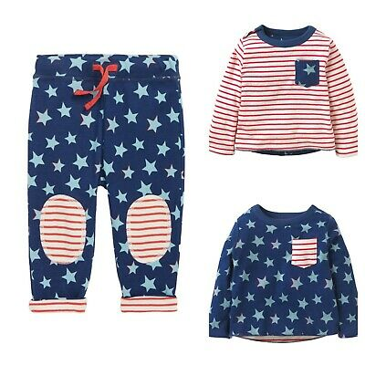 Baby Boden BESTSELLER Star Reversible Sets Tops Pants 0-4Yrs