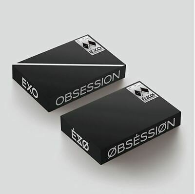 EXO 6TH ALBUM OBSESSION    2VERSION SET POSTER 2CD 2PBOOK 2CARD tracking num