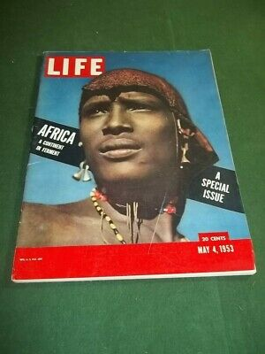 LIFE Magazine May 4 1953 Africa Special Issue No Mailing Label