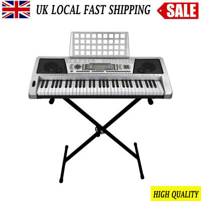 Keyboard Stand Single-tube X Frame Folding Height Adjustable For Piano UK