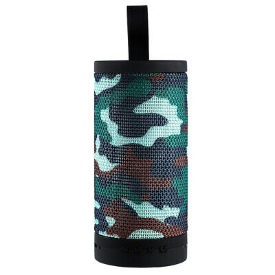 Battery Powered Stereo Outdoor Cylindrical Sound Bluetooth Speaker Portable Mini