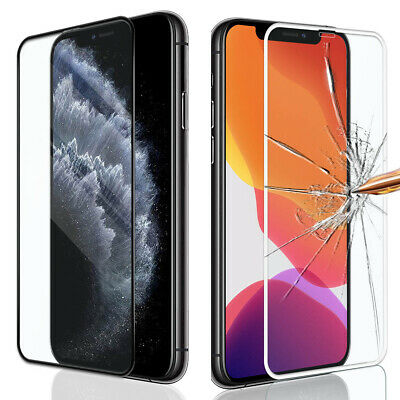 3D Curved Full Tempered Glass Screen Protector For Iphone 11 Pro Max / X / Xs Xr