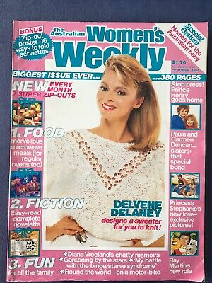 The Australian Women's Weekly Magazine, October, 1984