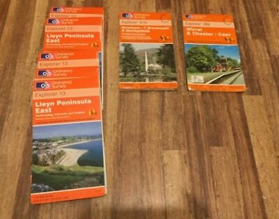 28x Ordance Survey Maps Bargain