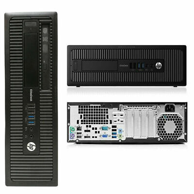 HP EliteDesk 800 i5-4570 3.2Ghz 8GB 500GB 240GB 480GB SSD Win10 PC Computer