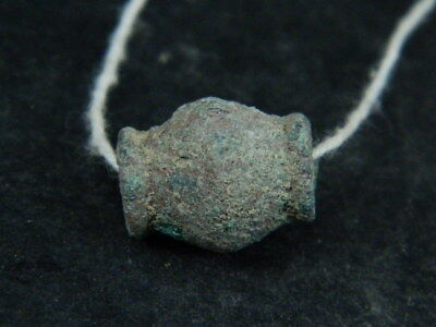 Ancient Bronze Bead Bactrian 300 BC #BR6414