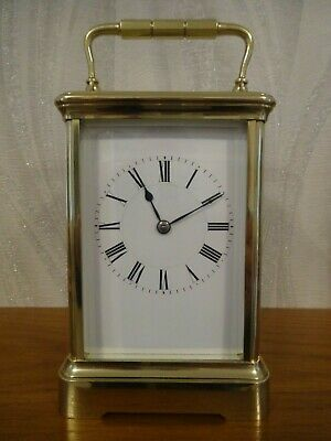 Fully restored antique Henri Jacot striking carriage clock - c. 1887/90