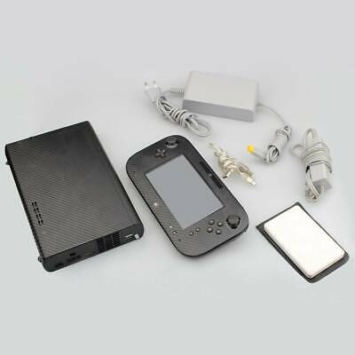 Used 320GB System Console Lot Bundle + 50pcs GAME FREE For Nintendo Wii U Deluxe