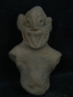 Indus Valley Teracotta Idol Bust 600 BC #SG1882