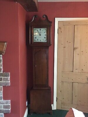 Longcase grandfather Clock 30Hour Movement Ebenezer Handscombe C1830