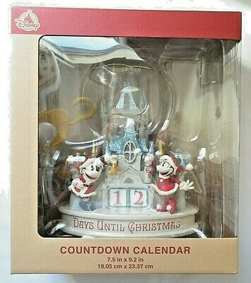 Disney Parks Santa Mickey Minnie Christmas Countdown Calendar 2019 Holidays NEW