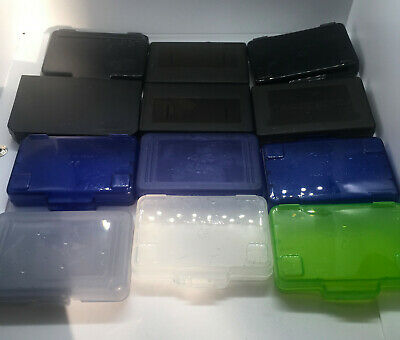 Lot of 12 Assorted Colours GameBoy Advance GBA Cases - Dust Covers - OEM