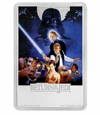 Star Wars - Return of the Jedi Poster Collection - 1 oz. Pure Silver Coin (2017)