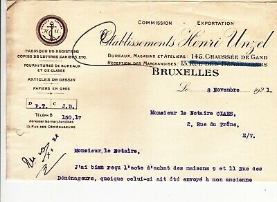 Ancien courrier 1921
