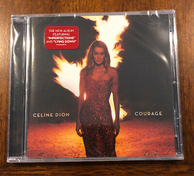 """2019 Celine Dion """"COURAGE"""" CD Brand New FREE SHIPPING"""