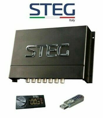 Steg Sdsp 68 Audio Processor Dsp and Controller USB Bluetooth 6 in 8 out New