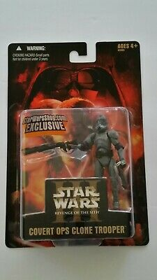 STAR WARS Revenge of the Sith Covert Ops Trooper Exclusive Action Figure New!