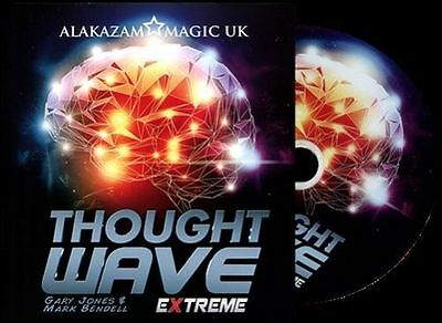 Thought Wave Extreme (Props and DVD) by Gary Jones & Alakazam - Magic Tricks