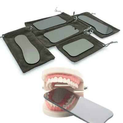 5* Dental Intraoral Orthodontic Photographic Glass Mirror 2-sided Rhodium; O4Q4