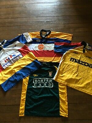Bulk Lot Rugby Union Nsw Referees Jerseys & Country Training Shirt