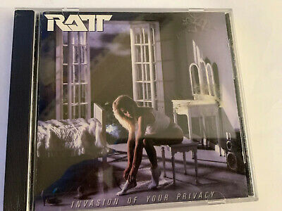 Ratt - Invasion Of Your Privacy West Germany CD