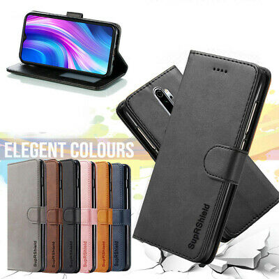 Xiaomi Redmi Note 8 Pro SupRShield Wallet Leather Card Holder Flip Magnet Case