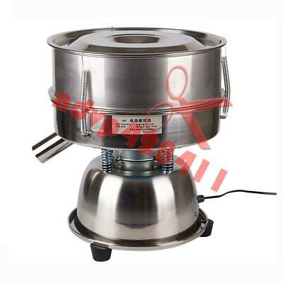30*8cm 80# Stainless Steel Electric Vibrating Sieve Machine For Powder Particle