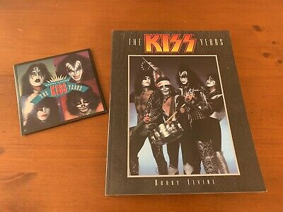 The Kiss Years Book And Cd Barry Levine 1997 Gene Simmons Paul Stanley