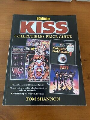 Kiss Collectibles Price Guide Book Rare Oop Exc Cond Gene Simmons Paul Stanley