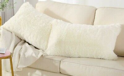 Luxury Teddy Pillow Fluffy Soft Sherpa Fleece Warm and Cuddly Winter Thermal A+