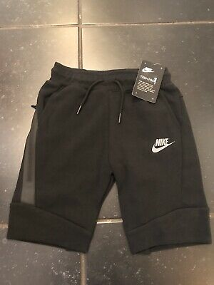Nike Tech Pack Kids Shorts Boys Girls Black Grey Size 6 Years Old