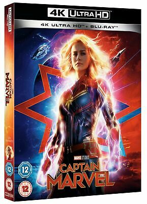 Captain Marvel 4K Ultra Hd Blu-Ray One Disc Movie & Case Only