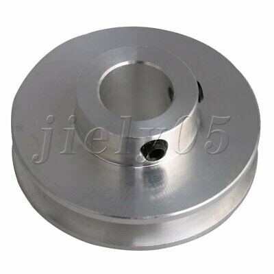 12MM Dia Bore V Groove Drive Belt Step Pulley Alloy for 3-5MM PU Round Belt
