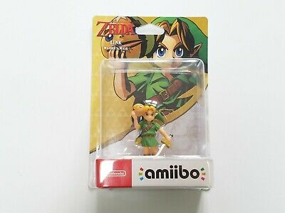 Amiibo LINK MAJORA'S MASK & THE LEGEND OF ZELDA & Nintendo Switch - Coffret NEUF