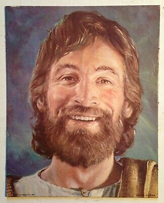 HIPPIE JESUS 8 by 10 Lithograph