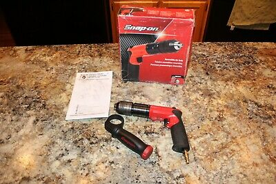 Snap-On PDR5001 Reversible Pneumatic Air Drill with Box & Manual