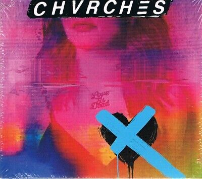CD – Chvrches – Love Is Dead ( 13 Track Album; NEU & OVP; Digisleeve )