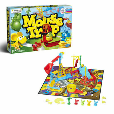 Mouse Trap Board Game The Crazy Game with 3 All Action Contraptions Family Game